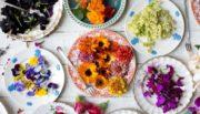 07.3 ЦВЕТЫ сухие для финишного декора блюд, заправки салатов, декора шок.изделий и аромата чая
